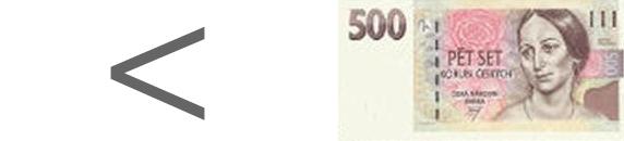 do 500,- Kč