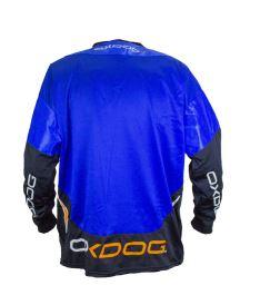 OXDOG GATE GOALIE SHIRT blue M (padding) - Brankářský dres