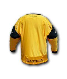 OXDOG BLOCKER GOALIE SHIRT orange/black XL - Brankářský dres