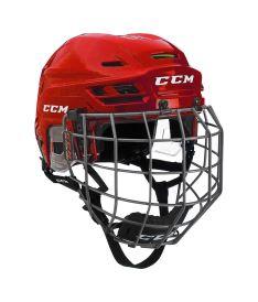 Hokejová helma CCM TACKS 310 Combo SR red