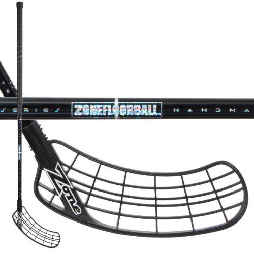 ZONE STICK SUPREME AIR SL 28 black/hologram 96cm R - florbalová hůl