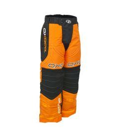 Brankářské florbalové kalhoty OXDOG TOUR GOALIE PANTS ORANGE 150/160