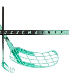 Florbalová hokejka SALMING Matrix 32 Black/Turquoise 87(93)