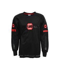Brankářský florbalový dres ZONE GOALIE SWEATER PRO black/red