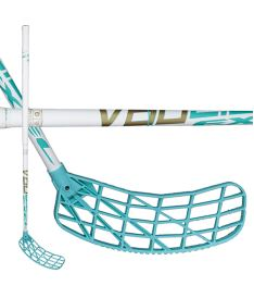 Florbalová hokejka EXEL V60 WHITE 2.6 103 ROUND SB