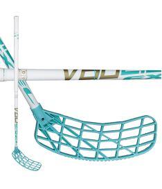 Florbalová hokejka EXEL V60 WHITE 3.4 87 ROUND SB