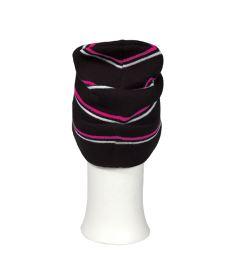 OXDOG JOY WINTER HAT black/pink/white - S/M - Kšiltovky a čepice
