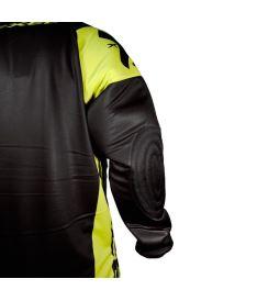 EXEL G2 GOALIE PROTECTION JERSEY black/yellow  XXL - Chrániče a vesty