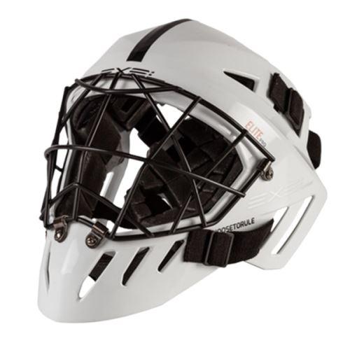 EXEL ELITE PRO HELMET senior white - Brankářské masky