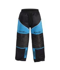 EXEL TORNADO GOALIE PANTS black/blue junior