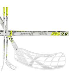 Florbalová hokejka EXEL F60 WHITE 2.6 103 ROUND MB