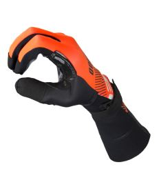 EXEL S100 GOALIE GLOVES LONG orange/black 10/XL - Brankařské rukavice
