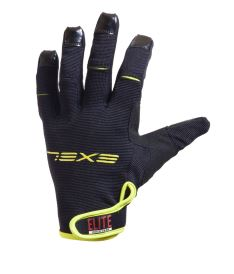 EXEL ELITE GOALIE GLOVES SHORT black