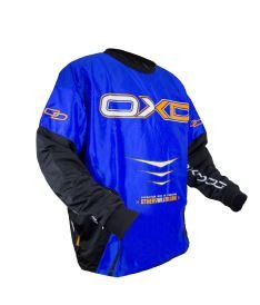 Brankářský florbalový dres OXDOG GATE GOALIE SHIRT blue 150/160 (padding)