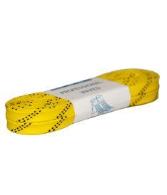 Tkaničky do bruslí GRAF LACES HOCKEY WAXED yellow 280cm