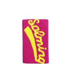 Sportovní potítko SALMING Wristband Long Pink