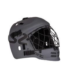 Brankářská florbalová maska SALMING Core Helmet JR Dark Grey