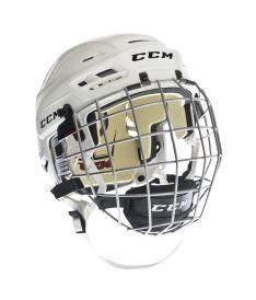 Hokejové helma CCM RES 110 combo SR white