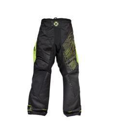 Brankářské florbalové kalhoty EXEL G1 GOALIE PANTS black/yellow