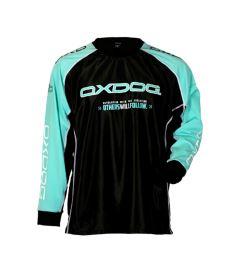 Brankářský florbalový dres OXDOG TOUR GOALIE SHIRT black/tiff 150/160