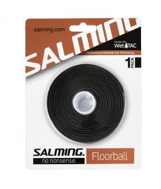 Florbalová omotávka SALMING TourLite WetTac Grip Black