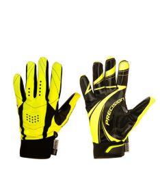 Brankářské florbalové rukavice  PRECISION GOALIE GLOVES senior black/yellow