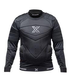 Brankářská florbalová vesta OXDOG XGUARD PROTECTION SHIRTS BLACK  150/160