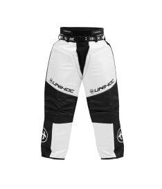 Brankářské florbalové kalhoty UNIHOC GOALIE PANTS KEEPER black/white