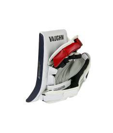 VAUGHN BLOCKER VELOCITY V7 XR CARBON PRO white/navy/red senior - REG - Vyrážečky