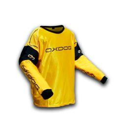 Brankářský florbalový dres OXDOG BLOCKER GOALIE SHIRT orange/black
