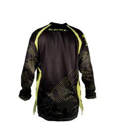 EXEL G1 GOALIE JERSEY #1 black/yellow  XL* - Brankářský dres
