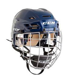 Hokejová helma CCM TACKS 110 Combo SR navy