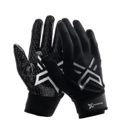 Brankářské florbalové rukavice  OXDOG XGUARD PRO GOALIE GLOVE SILICON Black