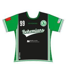 FREEZ JERSEY SUBLI LADIES - FBŠ BOHEMIANS 19 - A - black/green