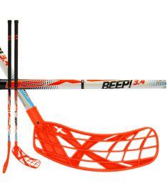 Florbalová hokejka EXEL BEEP! 3.4 white 101 ROUND SB