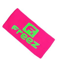 Sportovní potítko FREEZ QUEEN WRISTBAND LONG pink/lime