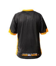 OXDOG RACE SHIRT senior black/orange - Trička
