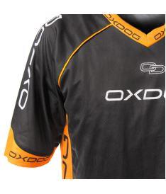 OXDOG RACE SHIRT black/orange  L - Trička