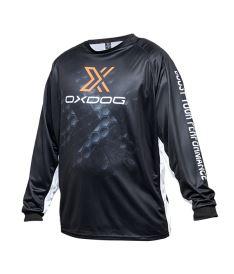Brankářský florbalový dres OXDOG XGUARD GOALIE SHIRT Black, no padding 150/160