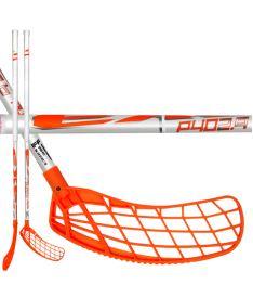 Florbalová hokejka EXEL P40 2.9 white 92 ROUND SB '16