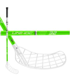 Florbalová hokejka UNIHOC STICK PLAYER 32 neon green