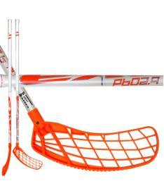Florbalová hokejka EXEL P60 2.9 white 92 ROUND MB  '16