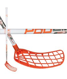 Florbalová hokejka EXEL P60 WHITE 2.6 98 ROUND MB