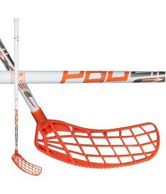 Florbalová hokejka EXEL P60 WHITE 3.4 87 ROUND SB