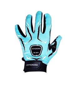 Brankářské florbalové rukavice  OXDOG TOUR GOALIE GLOVE tiff blue