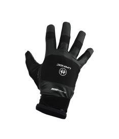 Brankářské florbalové rukavice  UNIHOC GOALIE GLOVES SUPERGRIP black junior