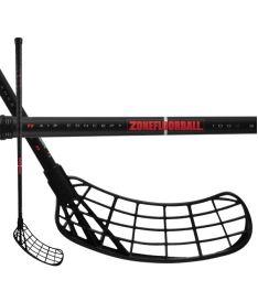 ZONE Stick MAKER Air 30 black/red 92cm