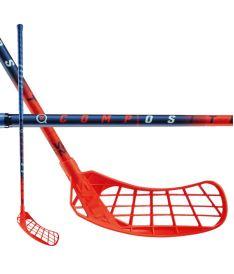 Florbalová hokejka SALMING Composite 32 (Quest2) 87(98)