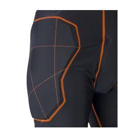 EXEL S100 PROTECTION SHORT black/orange L - Chrániče a vesty