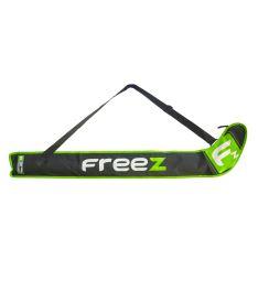 Vak na florbalky FREEZ Z-80 STICKBAG BLACK/GREEN 103cm
